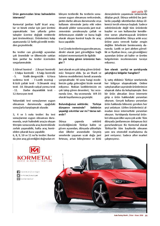 2d2ef18ce64f0 Auto tuning world 134 by world media groupe - issuu