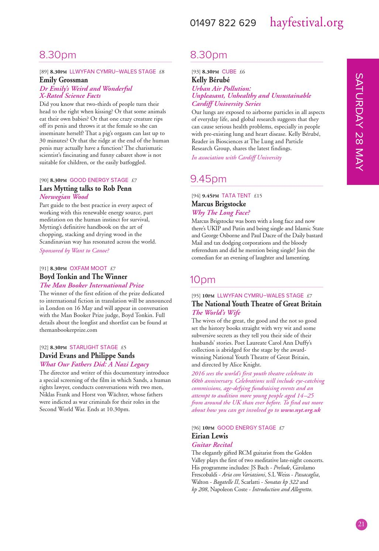 Hay Festival Programme 2016 by Hay Festival - issuu