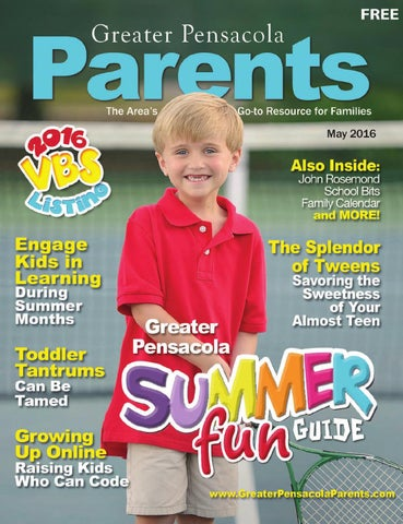 Greater Pensacola Parents May 2016 by KeepSharing - issuu