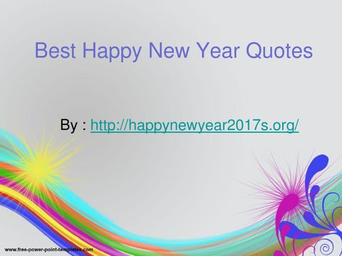 cover of best happy new year quotes