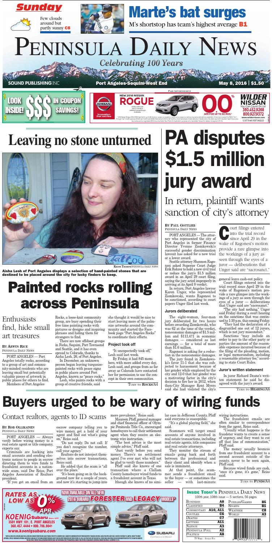 Pdn20160508c By Peninsula Daily News Sequim Gazette Issuu Wiring Boston Dui Lawyers