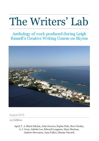 skyros creative writing