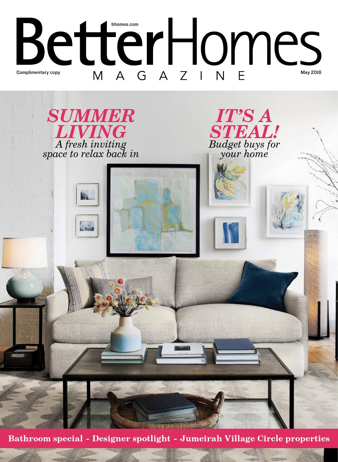 Better homes magazine may 39 16 by hot media issuu for Homes magazines