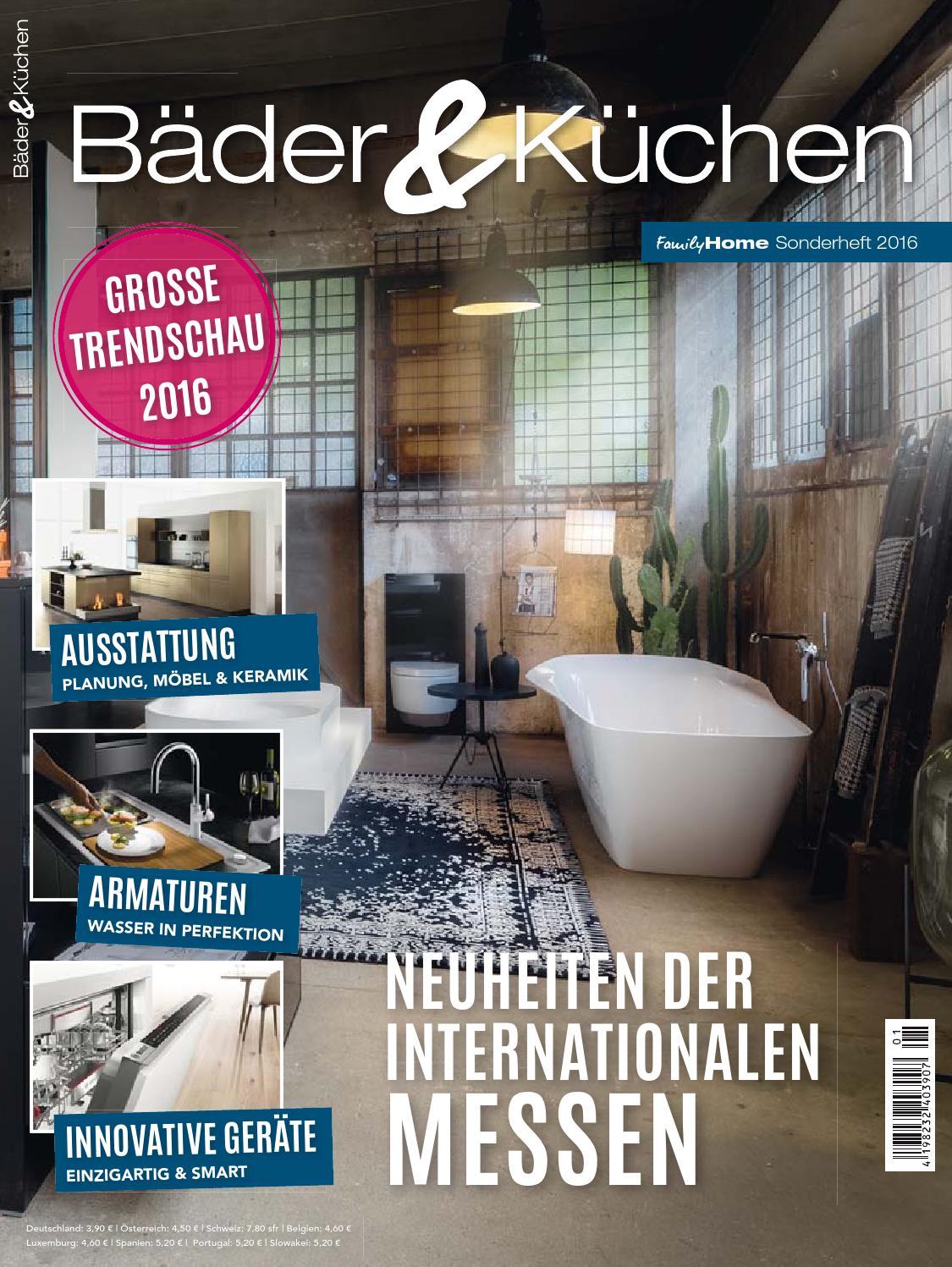 Charmant Bäder U0026 Küchen 2016 By Family Home Verlag GmbH   Issuu
