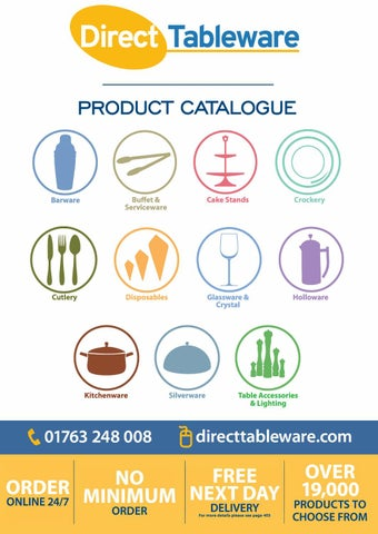 d86576174 Direct Tableware Product Catalogue by The Direct Tableware Company ...