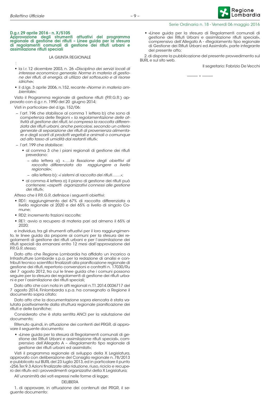 Calendario Coinger 2020.Linee Guida Per La Stesura Di Regolamenti Comunali Di