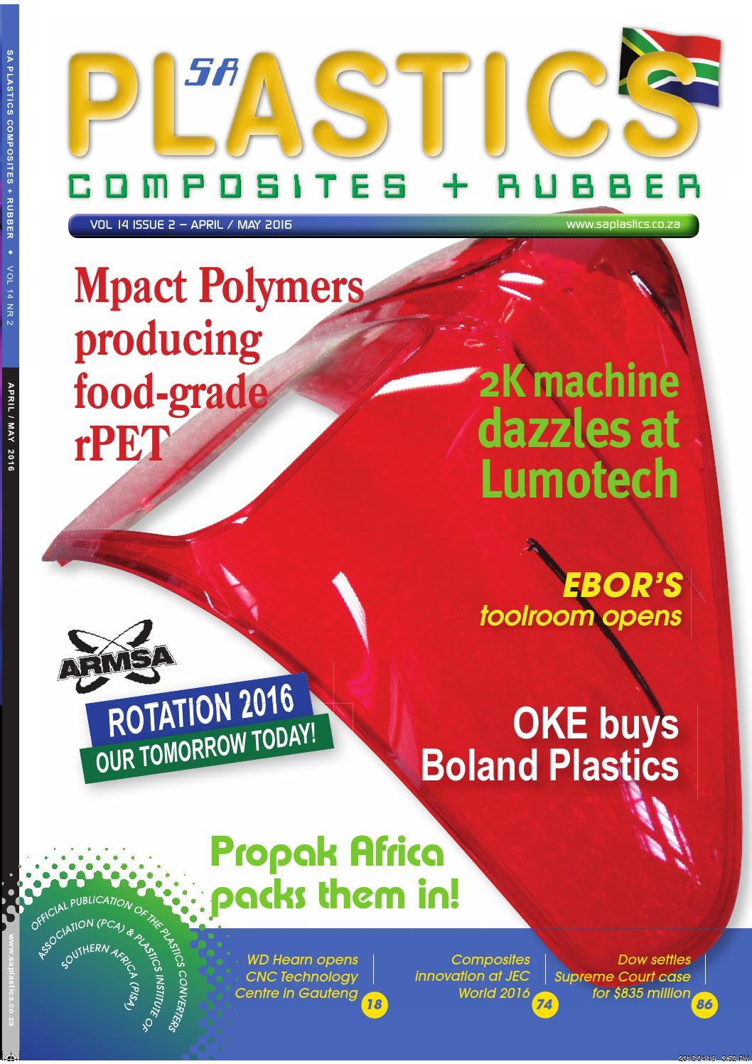 SA Plastics - April/May 2016 by SA Plastics, Composites