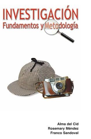 892cbf86dcc Cid investigacion fundamentos y metodologia by Andrea Ortega - issuu