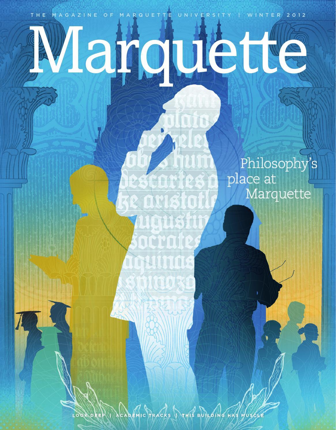 c7b6494f1a93 Marquette Magazine Winter 2012 by Marquette University - issuu