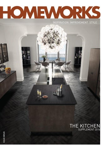 Page 1 Inspiration Improvement Style The Kitchen Issue Hws28