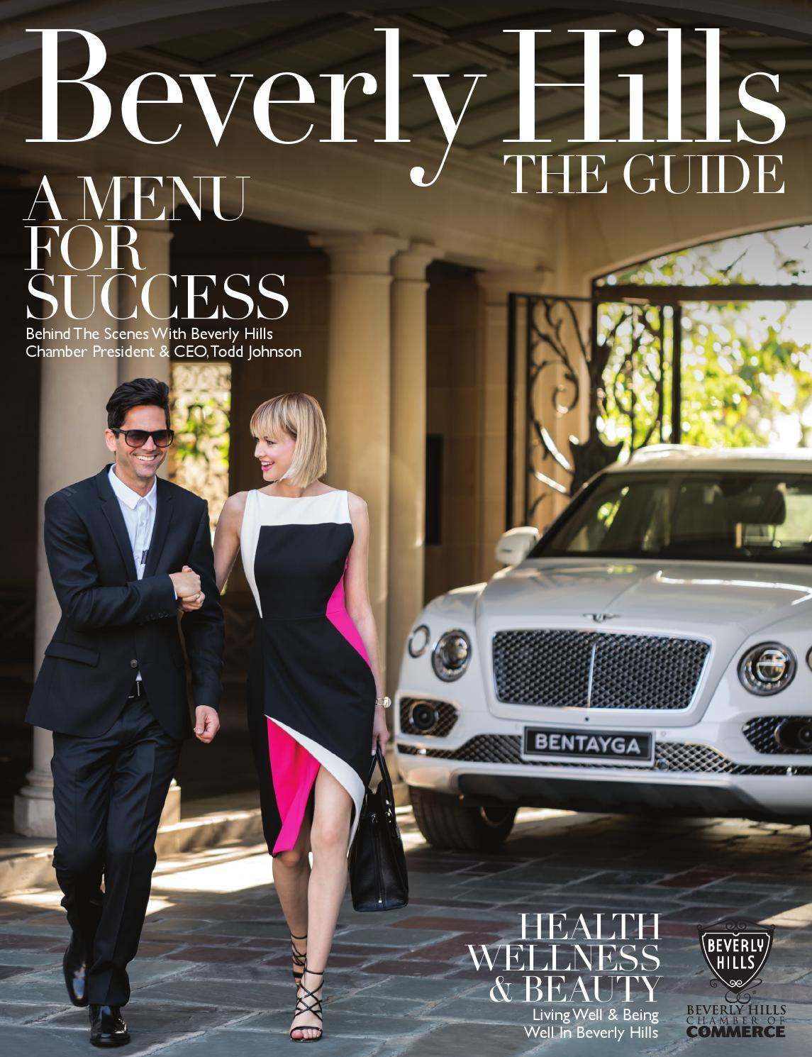 Beverly Hills The Guide 2016 By Chamber Marketing Partners