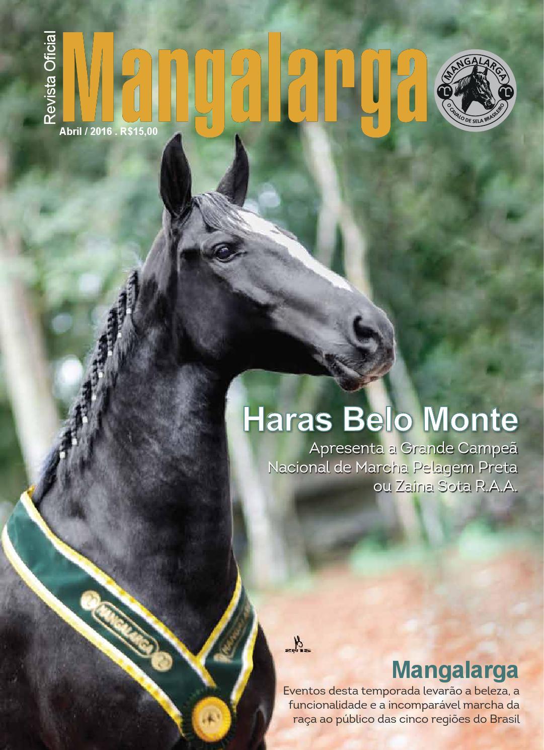 Revista mangalarga internet abril 2016 by abccrm angalarga - issuu a2ae5156427