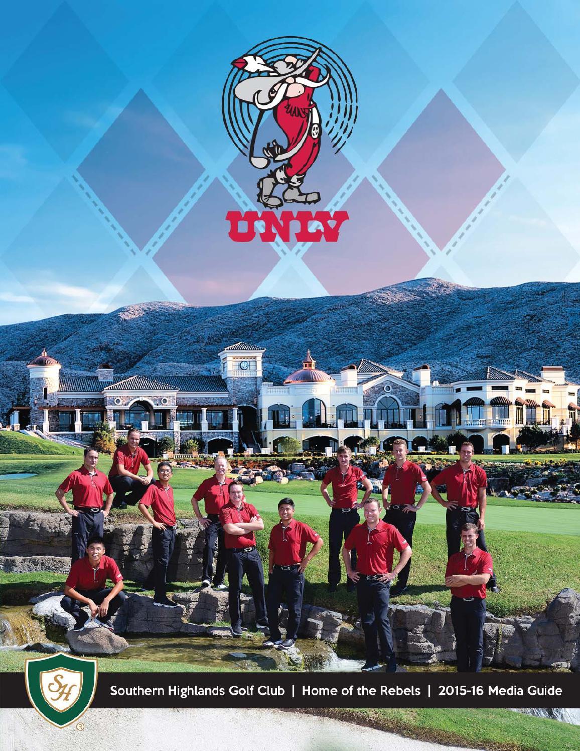 8f8b793fdc58d6 2015-16 UNLV Men s Golf Media Guide by UNLV Sports Information - issuu