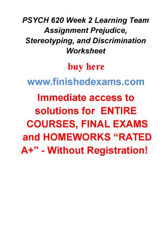 history of prejudice and stereotyping sociology essay Stereotype and prejudice essay sample the whole doc is available only for registered users open doc  prejudice - bad opinion that we form against a person or group based on a stereotype war poetry advantages sociology medicine globalization stereotype leadership agriculture.