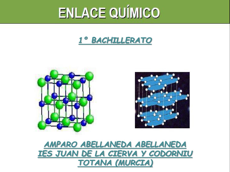 Tema 3 Enlace Quimico By Amparo Abellaneda Issuu