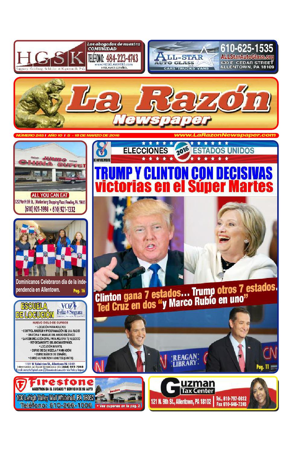 La Razón 245 32pages by La Razon Newspaper - issuu