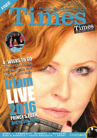 Irlam and Cadishead Times - May by Irlam and Cadishead Times - issuu