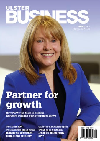 Ulster Business April 2016 By Ulster Business Issuu
