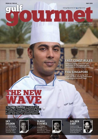 May 2016 By Gulf Gourmet Magazine Issuu