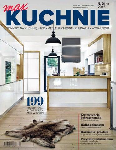 Magazyn Maxkuchnie 12016 By Maxkuchnie Issuu