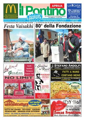 Il Pontino Aprilia - Anno XXVII - N. 9 - 10 23 Maggio 2016 by Il ... ece5ac31fb91