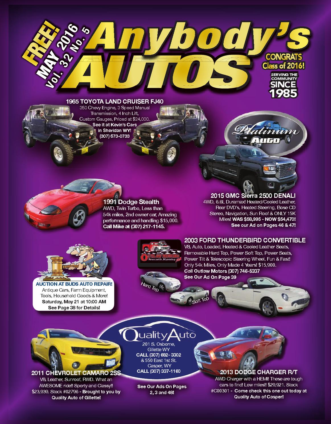 Anybodys Autos May 2016 by Anybodys Autos - issuu