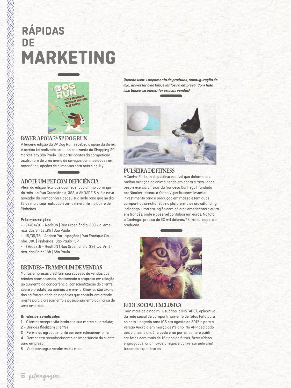 58cbbd6fb14 Petmagazine 96 by Luanda Editores - issuu