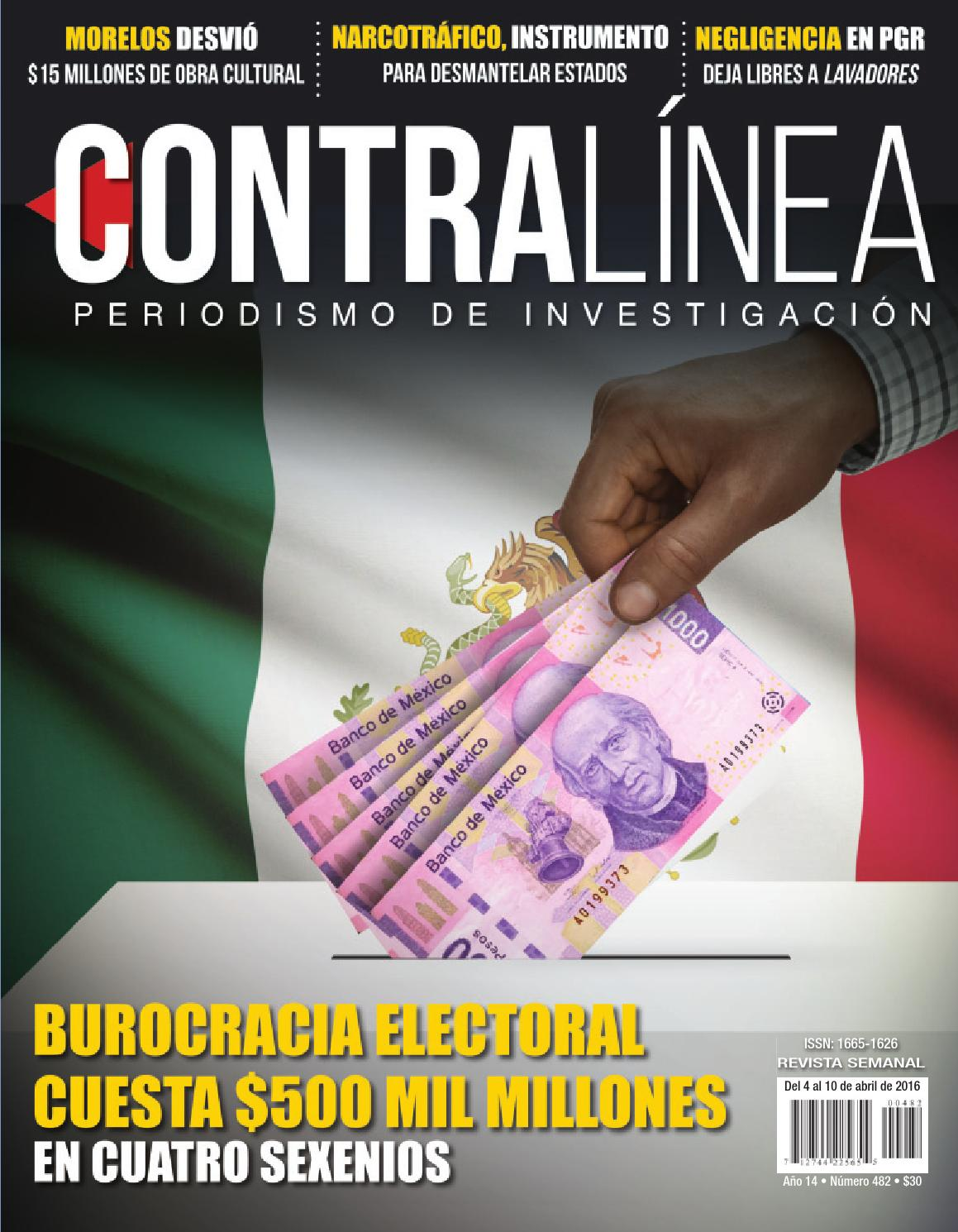Contralínea 482 by Revista Contralínea - issuu