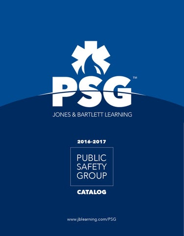 2016 psg catalog by jones bartlett learning issuu page 1 fandeluxe Image collections