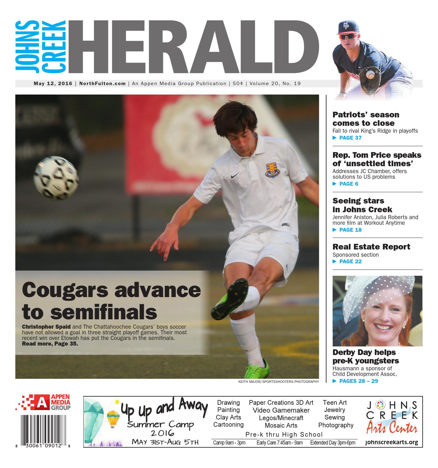 Johns Creek Herald May 12 2016 By Appen Media Group Issuu