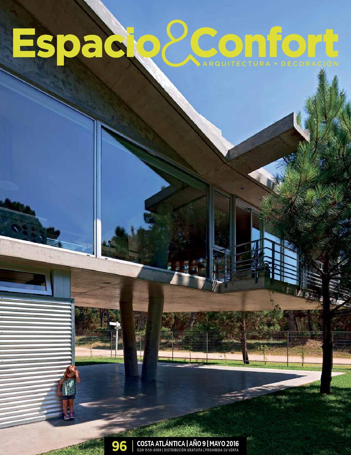 96 Costa Mayo 2016 By Revista Espacio Confort Arquitectura  # Muebles Luberto Mdp