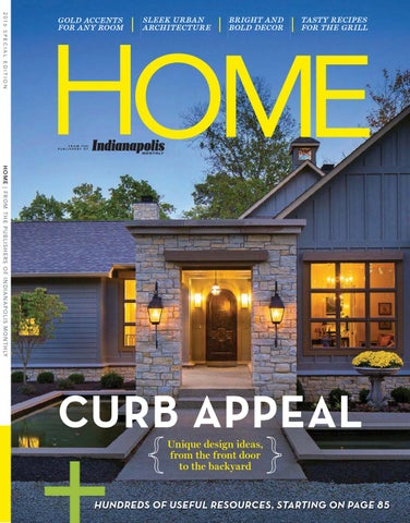 Indianapolis Monthly Home Magazine 2016 By