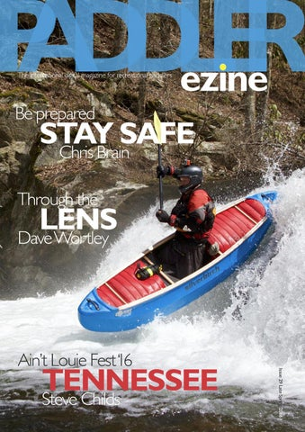 The Paddler issue 29 Late Spring 2016 Canoe cover