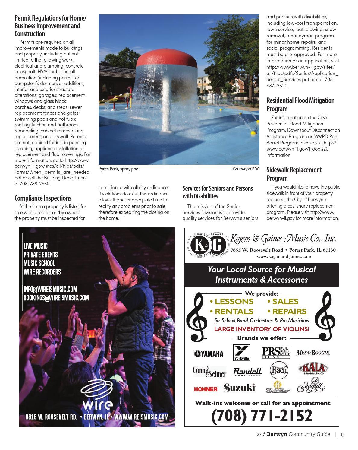 2016 Berwyn Magazine And Community Resource Guide Issue