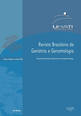 RBGG volume 19 nº2  Março - Abril 2016 by Revista Brasileira de
