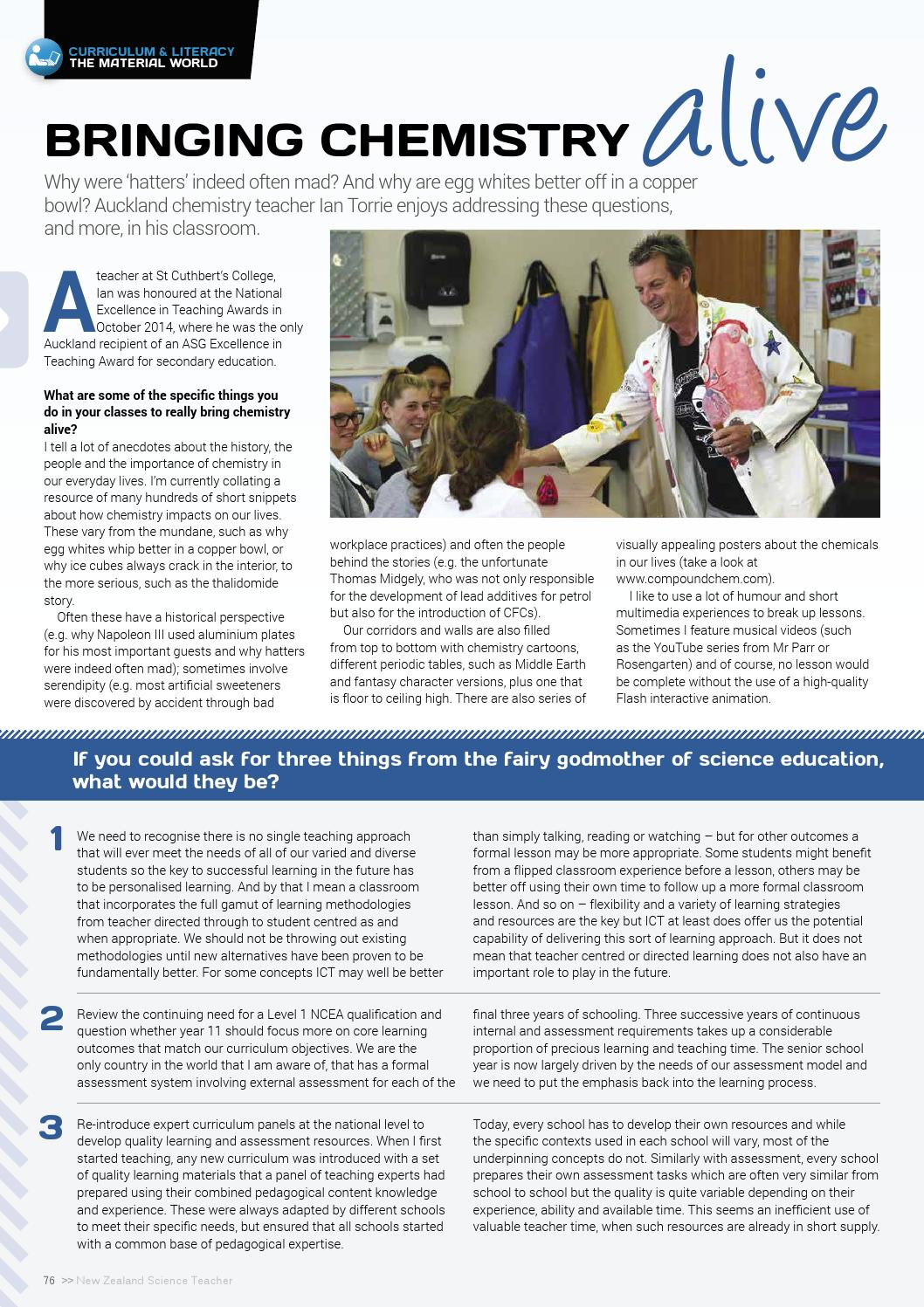 New Zealand Science Journal 2015