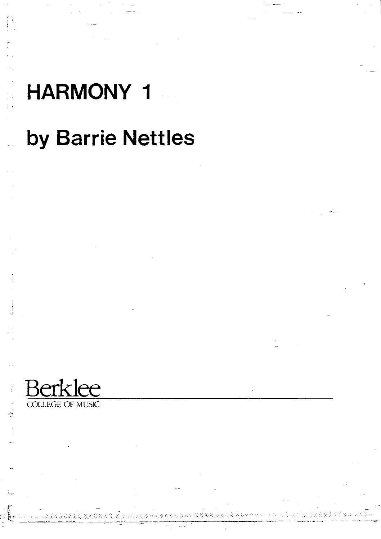 Berklee - Harmony 1-4 - PDF Free Download