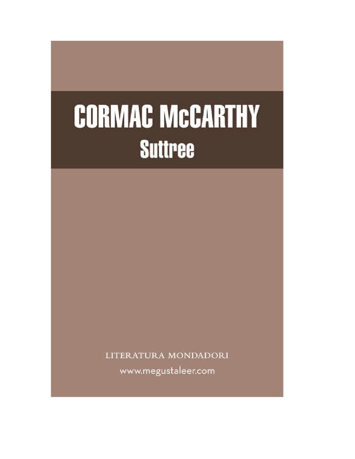 Mccarthy cormac by Kosmic Bluez - issuu