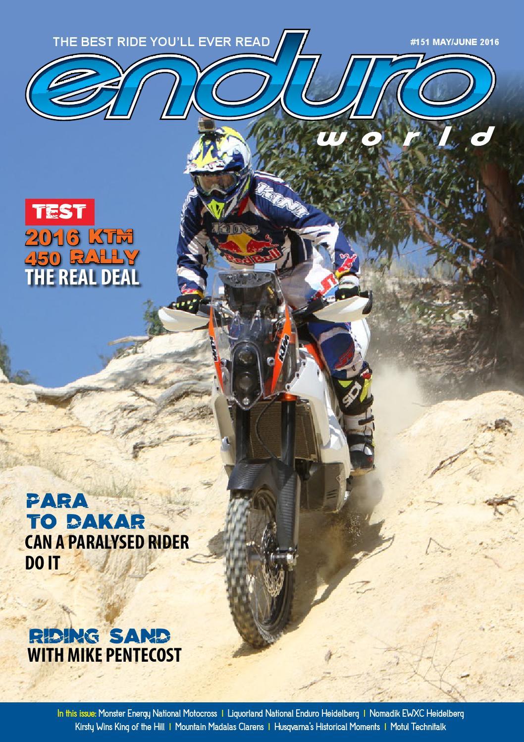 Enduro World May June 2016 Issuu By Magazine Scop Air Rx King Original
