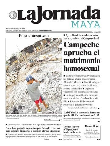 La Jornada Maya · miércoles 11 de mayo, 2016 by La Jornada