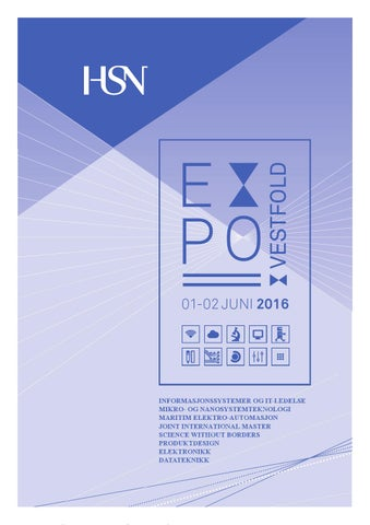 6324349d9 Hsn expo 2016 by Universitetet i Sørøst-Norge - issuu