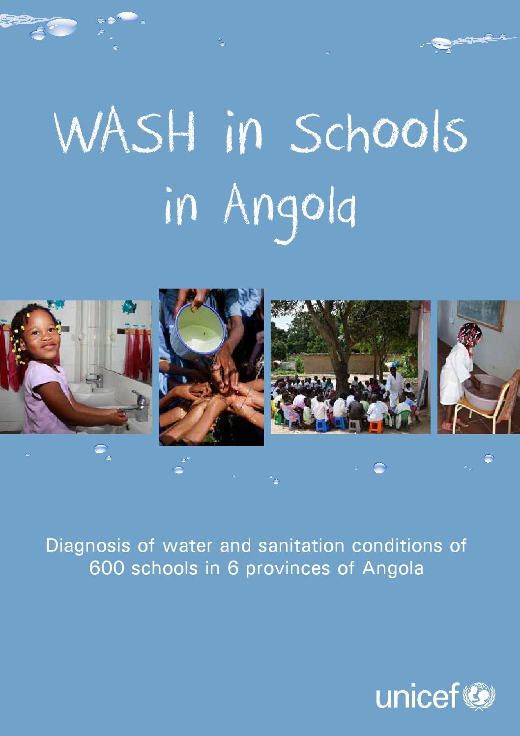 Wash In Schools In Angola By Unicef Angola Issuu
