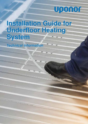 Underfloor heating install guide by uponor uk issuu installation guide for underfloor heating system technical information asfbconference2016 Images