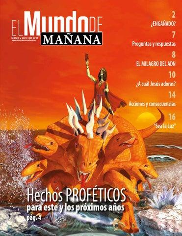Revista marzo abril 2015 by El Mundo de Mañana - issuu