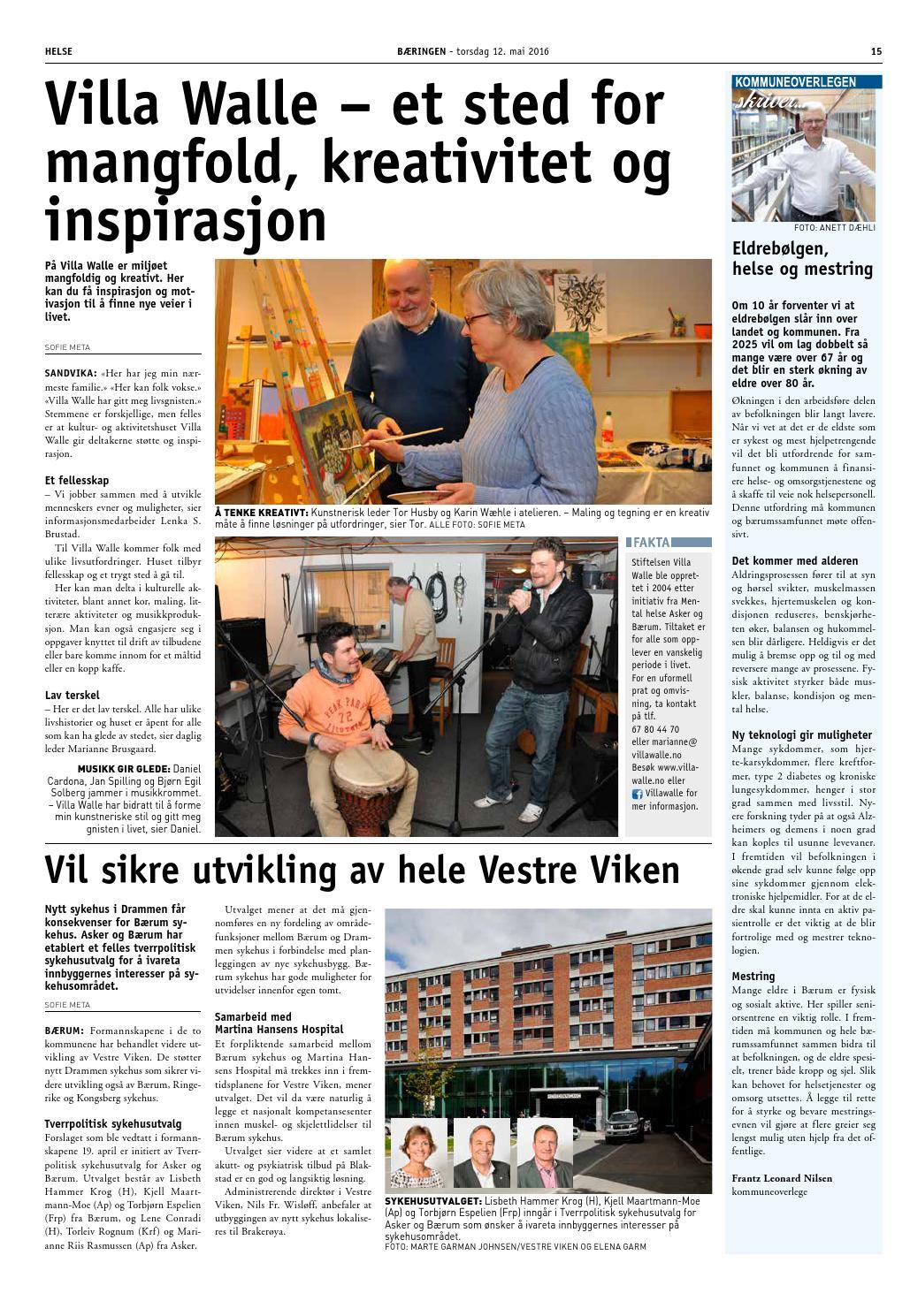 6a2b54593 Bæringen 3-2016 by Bærum kommune - issuu