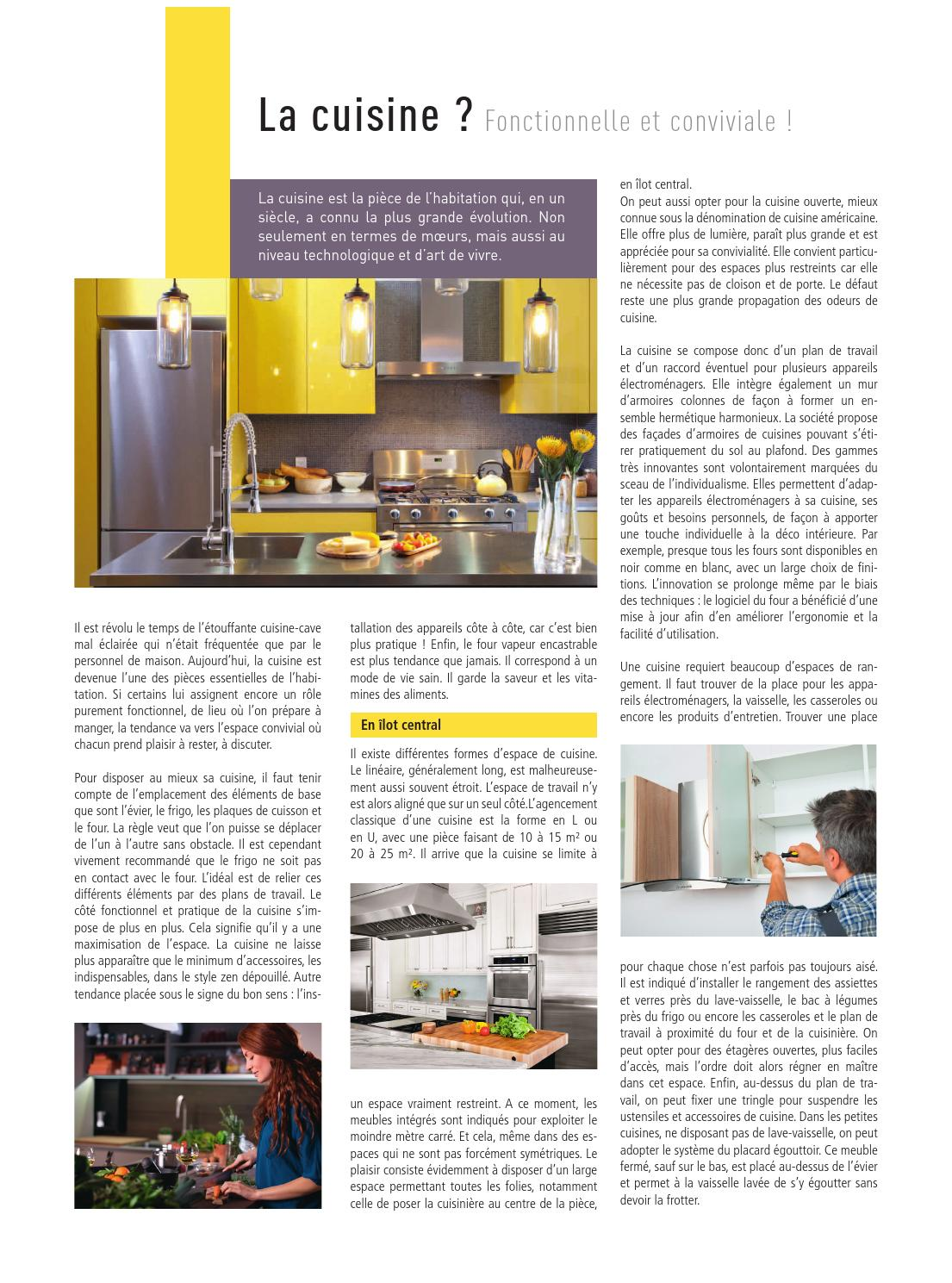 Fixer Un Ilot Central Au Sol i&h mons 1205proximag magazine - issuu