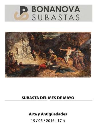ead3a47e31db Bonanova Subastas Catálogo Subasta Mayo by Bonanova Subastas - issuu