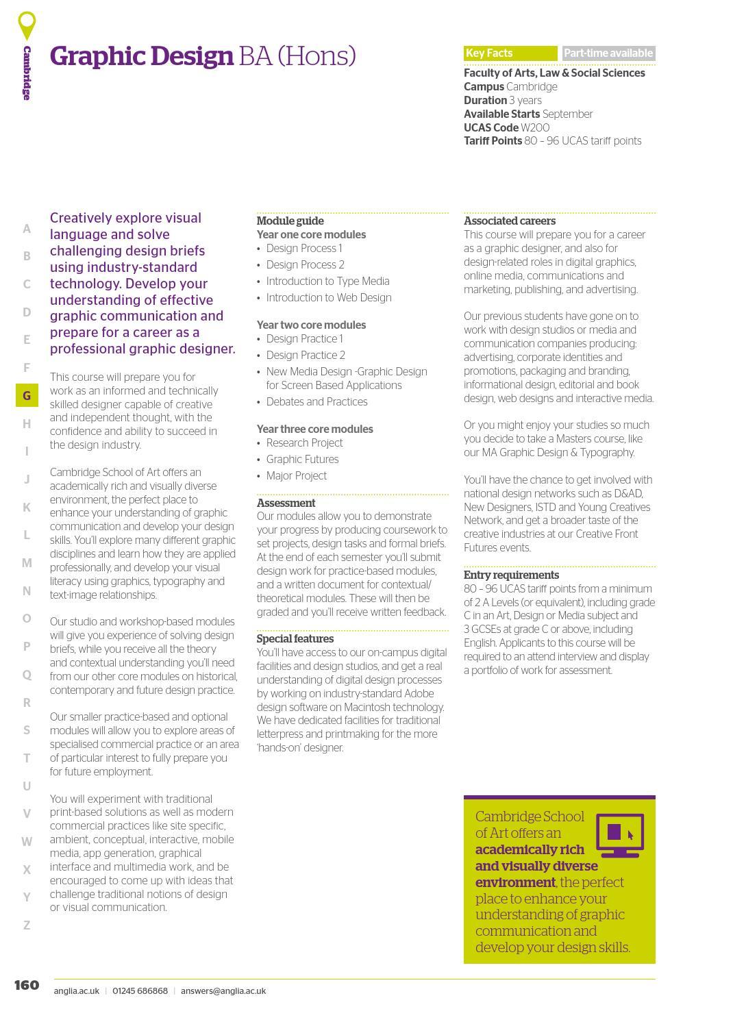 Anglia Ruskin University Ug Prospectus 2017 18 By Angliaruskin Issuu