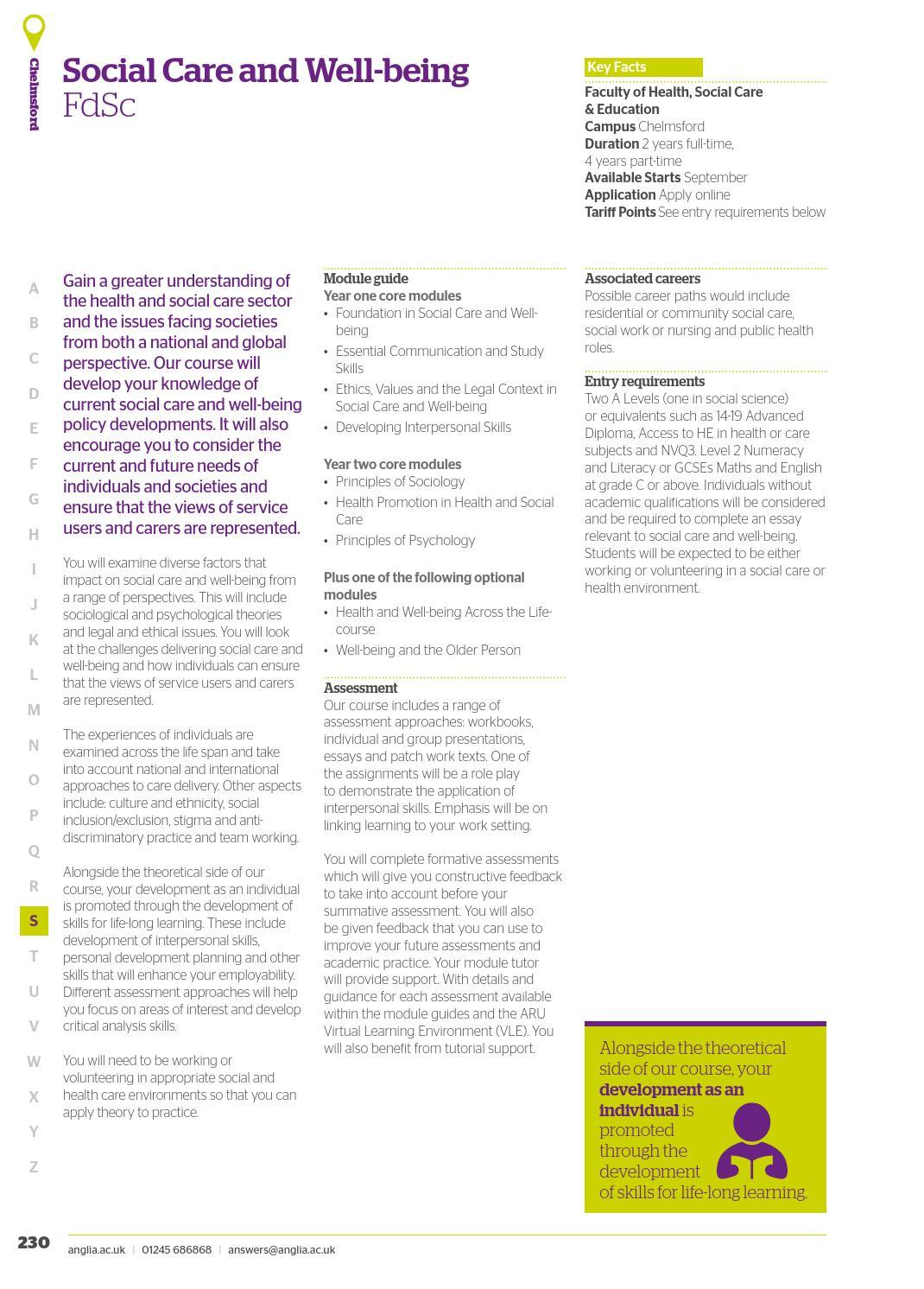 Anglia Ruskin University UG Prospectus 2017-18 by