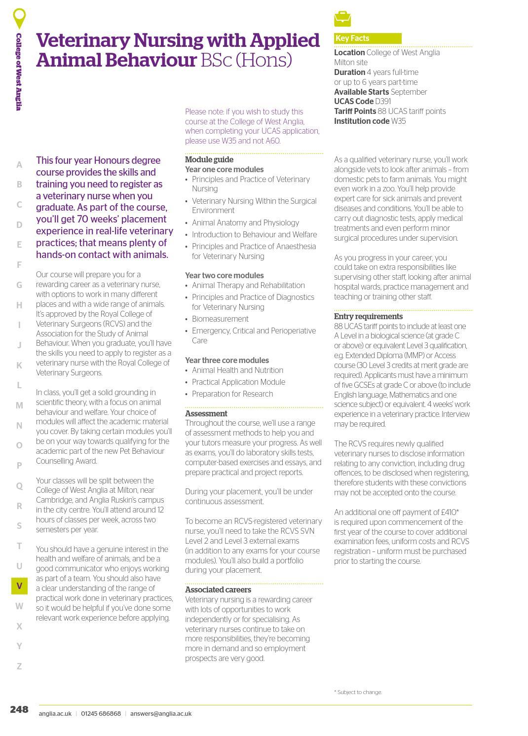 Anglia Ruskin University UG Prospectus 2017-18 by angliaruskin - issuu